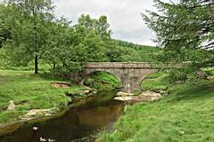 Slippery Stones Bridge, Upper Derwent Valley, Peak District (HighPeak92) Tags: bridges packhorsebridges slipperystonesbridge rivers riverderwent valleys upperderwentvalley peakdistrict canonpowershotsx700hs