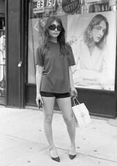7xi-0701-017 (stephen sherman) Tags: film kentmere400 minolta7xl newyorkcity manhattan soho streetstyle asiangirl bnw