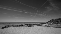 Dune (subterraneancarsickblues) Tags: lancashire stannes fylde coast beach seaside resort bw blackandwhite landscape canon 6d eos6d 1635mm f4l lseries wide wideangle