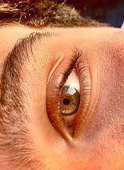 Eye (aurora_tomassoni) Tags: life blue boy portrait people man detail green eye love boyfriend beauty photo cool eyes eyecontact foto lashes time details angles style occhi vision dettagli sharpen eyeshadow telefono occhio mylove giacomo ragazzo iphone prospettiva bello sopracciglia contrasto myman ciglia