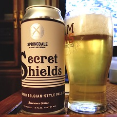 Secret Shields (Pak T) Tags: glass drink beverage ale can alcohol tmobile aluminumcan beerporn untappd samsunggalaxys8 pale springdale massachusetts jacksabby