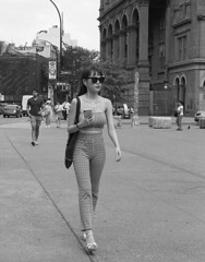 7xi-0701-008 (stephen sherman) Tags: film kentmere400 minolta7xl newyorkcity manhattan eastvillage astorplace streetstyle asiangirl bnw