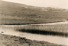 Near Leverburgh (fawcetownsley) Tags: film olympus zuiko darkroom lith landscape diy developer rpx rpx100 kodak blackandwhite bw metol fixer om