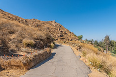 Mount Rubidoux Paved Hiking Trail (SCSQ4) Tags: california drybrush hay haybales hike hikingtrail mountrubidoux mountain pavedhikingtrail pavedtrail photohike riverside rocks rocky trees
