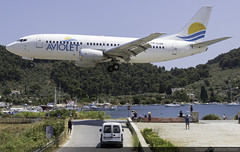 Aviolet (Air Serbia) Boeing 737-3H9 YU-ANI @ Skiathos Airport (LGSK/JSI) (Joshua_Risker) Tags: skiathos airport lgsk jsi island alexandros papadiamantis greece aircraft aviation plane planespotting planespotter avgeek jet aviolet air serbia boeing 737 737300 b733 733 7373h9 yuani belgrade