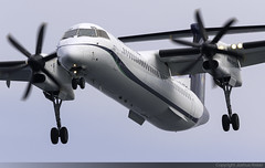 Olympic Air Bombardier Dash-8 Q402 SX-OBG @ Skiathos Airport (LGSK/JSI) (Joshua_Risker) Tags: skiathos airport lgsk jsi island alexandros papadiamantis greece aircraft aviation plane planespotting planespotter avgeek jet olympic air bombardier dash8 dh8d q400 q402 sxobg
