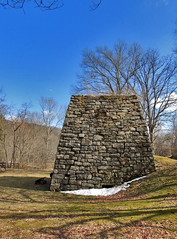 Wharton Furnace (George Neat) Tags: wharton iron furnace ore industry stone stonework laurelhighlands fayette county pa pennsylvania buildings structures old historical landmark clouds outside georgeneat patriotportraits neatroadtrips