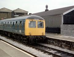 North-Woolwich-DMU1 (citytransportinfo) Tags: diesel train railway stratford dmu britishrailways br britishrail dieselmultipleunit station platform