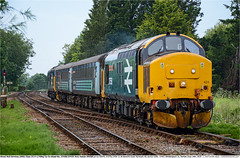 37424(37558)GB_WhittlinghamJn_240619 (Catcliffe Demon) Tags: railways railroading uk ukrailimages2019 tractor eetype3 diesellocomotive drs directrailservices class374 abelliogreateranglia aga abellio locohauled largelogo