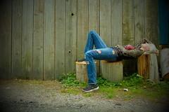 Stump Age (eddi_monsoon) Tags: threesixtyfive 365 selfportrait selfie self portrait stumps alley