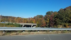 Out on the Highway (Amazing-a2001) Tags: road roadway tree trees car highway freeway fall autumn