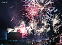 The Grand Finale (Darrell Wyatt) Tags: usu july forth fourth holiday independence fireworks