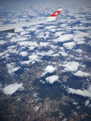 Warsaw to Zurich (roomman) Tags: 2019 geneca switzerland genf waw zrh warsaw zurich lx swiss wing symbol winglet cloud clouds lacleman lake geneva genfer see transport transportation flight