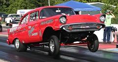 1957 Chevy Gasser (Bill Jacomet) Tags: dirty south gassers super stockers stock dsg fcc funny car chaos pine valley raceway drag racing strip dragway tx texas 2019 lufkin