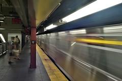 Train Coming In (cobbu2) Tags: m8 leicam8 superwideheliar 15mmf45voigtlandersuperwideheliar newyorksubway 15mmf45superwideheliar