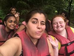 Girls TAP rafting