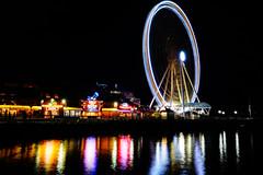 The Wheel - Seattle Washington[Explored] (Bernie Duhamel) Tags: thegreatwheel seattle washington waterfront ocean bay sea sonya7riii sony2470mm greatphotographers teamsony bernie duhamel night city citylights