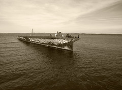 Accomac (Jason Freese) Tags: vehicle boat ship abandoned river riverbank ferry mallows bay coast transportation watercraft vessel
