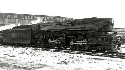 PRR 4-4-4-4 T-1 Steam Locomotive 32 - a photo on Flickriver