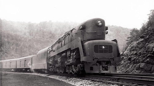 PRR 4-4-4-4 T-1 Steam Locomotive 6 - a photo on Flickriver