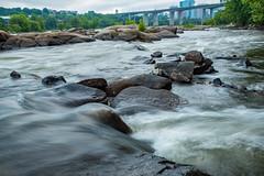 Belle Isle (Somsubhra Chatterjee) Tags: belleisle rva richmond va jamesriver longexposure rapids rocks river water summer 2019