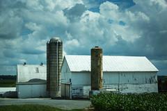 barn clouds (Jen MacNeill) Tags: lancaster pa country rural banr barns silo farm farming quarryville amish clouds cloud