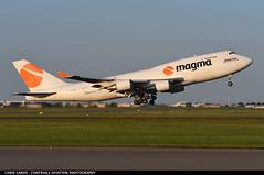 Magma (Air Atlanta Icelandic) B744F TFAMN (Sandsman83) Tags: magma boeing 747 takeoff airplane aircraft plane yyc cyyc calgary tfamn