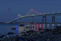 Newport Bridge (Rrea Brown (Photography)) Tags: rreabrownphotography bridge newportbridge rhodeisland longexposure ihatemosquitos