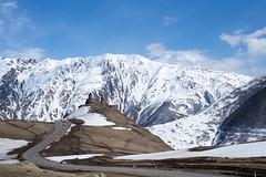 L1005294-1 (nae2409) Tags: church qazbegi georgia landscape leica snow mountain