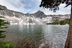 Idaho at Elevation (RH Miller) Tags: rhmiller reedmiller landscape water lake meadowlake lemhimountainrange mountains idaho usa