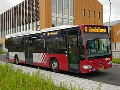 NLD Qbuzz 3167 - 26 ● Groningen Zernike Noord (Roderik-D) Tags: bxfx43 3167 qbuzz31003301 zernikenoord 644111 lijnbus linienbus 2009 dieselbus euro5 mercedesbenz citaro2 o530ü savas bege überlandbus streekbus 2axle 2doors ivu gorba automatictransmission streeklijn26