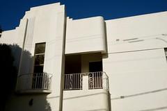 Art Deco facade detail (Joe Lewit) Tags: variosonnart281635 apartments facade caulfield melbourne australia artdeco
