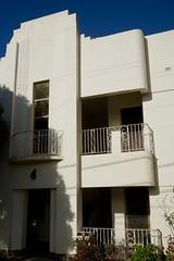Art Deco apartments entrance (Joe Lewit) Tags: variosonnart281635 apartments facade caulfield melbourne australia artdeco