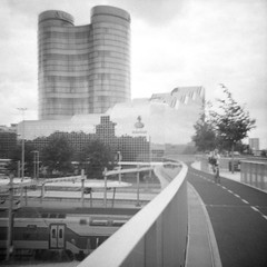 """Utrecht - shot with (Diana clone) 'Snappy' camera on expired Ilford HP5 <a style=""""margin-left:10px; font-size:0.8em;"""" href=""""http://www.flickr.com/photos/85202113@N00/48238011866/"""" target=""""_blank"""">@flickr</a>"""