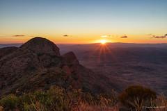 Mt Sonder sunrise (NettyA) Tags: australia centralaustralia larapintatrail mtsonder mtsonderwalk nt northernterritory tjoritjiawestmacdonnellnationalpark worldexpeditions bushwalk bushwalking hike landscape sunrise