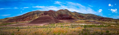 Painted Hills (Selectivebits) Tags: oregon hill landscape paintedhills panoroma exquisitex18 200 80