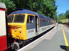 47306 Bodmin Parkway (Marky7890) Tags: 47306 class47 boscarneparkway bodminwenfordrailway cornwall heritage diesellocomotive