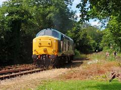 37142 Boscarne Junction (2) (Marky7890) Tags: 37142 class37 boscarnejunction bodminwenfordrailway cornwall heritage diesellocomotive