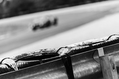 Racetrack Ambience (uluqui) Tags: canon 6d car motorsport motor race sport classic legend racing historic circuit france automotive automobile racecar vintage peterauto dijon dijonprenois motion speed track racetrack ambience blackandwhite bw noiretblanc