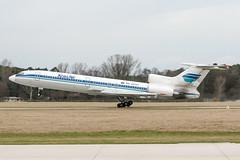 RA-75702 (PlanePixNase) Tags: aircraft airport planespotting haj eddv hannover langenhagen tupolev tu154 t154 krasair