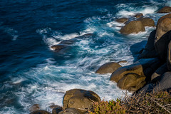 The Restless Sea (Serendigity) Tags: australia graniteisland southaustralia variondfilter victorharbor coast filter foam motion rocks sea slowshutterspeed water