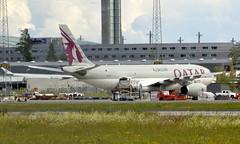 Qatar A7-AFF, OSL ENGM Gardermoen (Inger Bjørndal Foss) Tags: a7aff qatar cargo airbus a330 osl engm gardermoen
