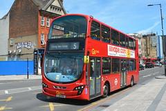 LJ61 NVZ   (WVL487) Go-Ahead London Blue Triangle (hotspur_star) Tags: londontransport londonbuses londonbus londonbuses2019 wrightbus volvoeclipsegemini tfl transportforlondon busscene2019 doubledeck goaheadlondonbluetriangle lj61nvz wvl487 5