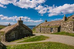 Gearrannan Black House Village, Lewis (Bev & Paul Mynott) Tags: lewisharris gearrannanblackhousevillage blackhouses scotland holiday2019 hebrides outerhebrides