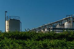 Industrial light (jefvandenhoute) Tags: belgium belgië antwerp antwerpen petrolzuid light industry industrialarcheology