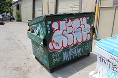 (Laugh now, smile later) Tags: graffiti bayarea eastbay oakland jery tck