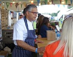 Celeb Chef Atul Kochhar at Warwick