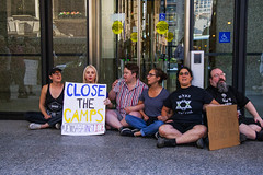 Jews Against Concentration Camps Chicago Illinois 7-8-19 _1659 (www.cemillerphotography.com) Tags: racism fascism nazis murder genocide immigrants refugees prison confinement ice xenophobia discrimination whitesupremacy schutzstaffel immigrationandcustomsenforcement borderpatrol torture