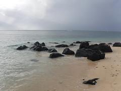 Beach Scenes (Rckr88) Tags: pointeauxbiches mauritius pointe aux biches beach scenes beachscenes beachscene scene sea water waves wave ocean coastline coast coastal rock rocks beachsand sand nature naturalworld outdoors travel travelling