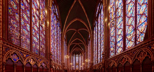 Sainte-Chapelle, upper level, Paris, France
